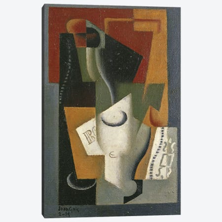 Still Life, 1919  Canvas Print #BMN1596} by Juan Gris Canvas Art Print