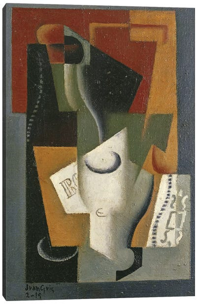 Still Life, 1919  Canvas Art Print