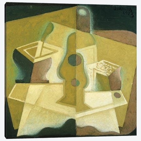 The Packet of Tobacco, c.1923  Canvas Print #BMN1597} by Juan Gris Canvas Print