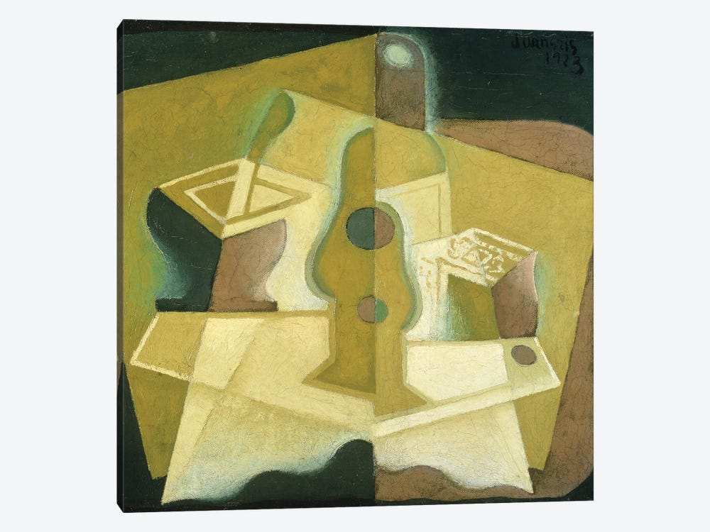 The Packet of Tobacco, c.1923  by Juan Gris 1-piece Canvas Print