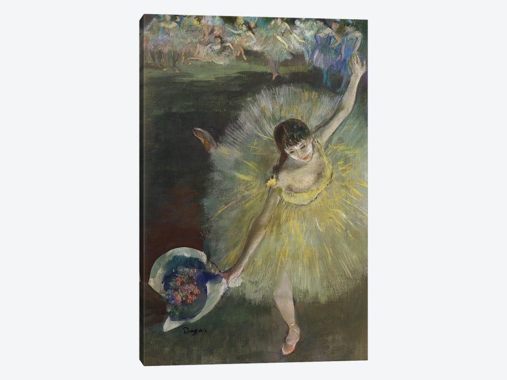End of an Arabesque, 1877  by Edgar Degas 1-piece Canvas Art