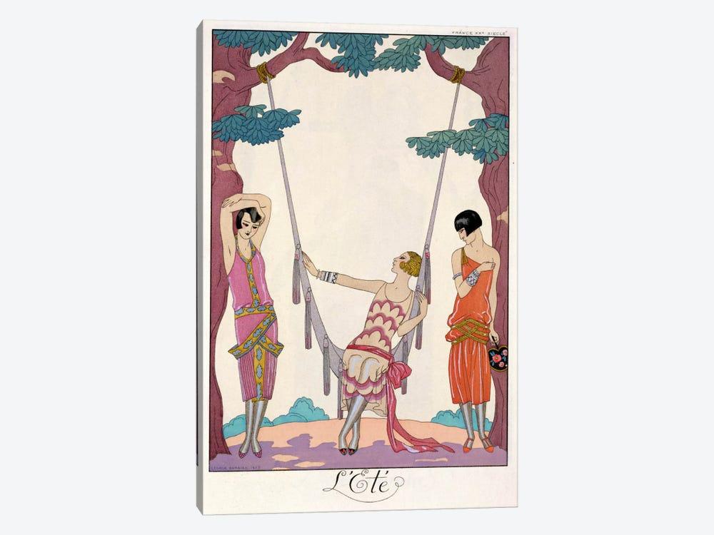 Summer, from 'Gazette du Bon Ton', 1925 by George Barbier 1-piece Canvas Wall Art