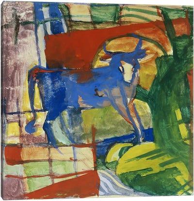 Blue Cow, 1914  Canvas Art Print