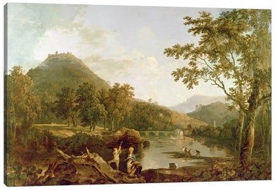 Dinas Bran from Llangollen, 1770-71  Canvas Art Print
