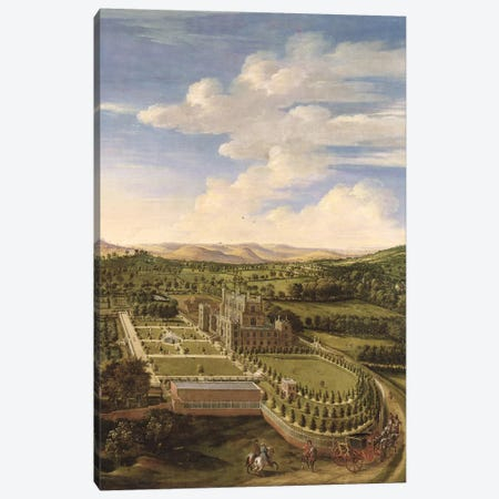 Wollaton Hall and Park, Nottingham, 1697  Canvas Print #BMN1608} by Jan Siberechts Canvas Wall Art