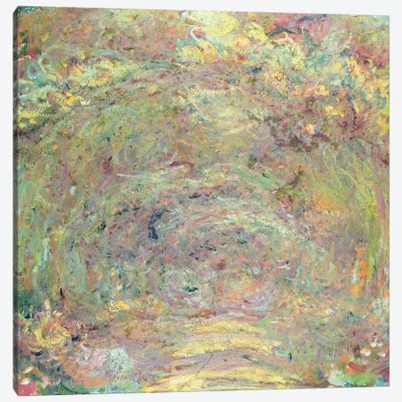 Shaded Path, c.1920  Canvas Print #BMN1609} by Claude Monet Canvas Wall Art