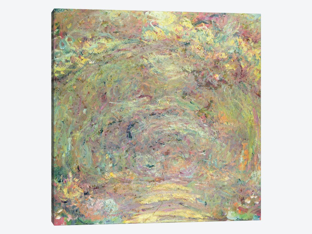Shaded Path, c.1920  by Claude Monet 1-piece Canvas Art