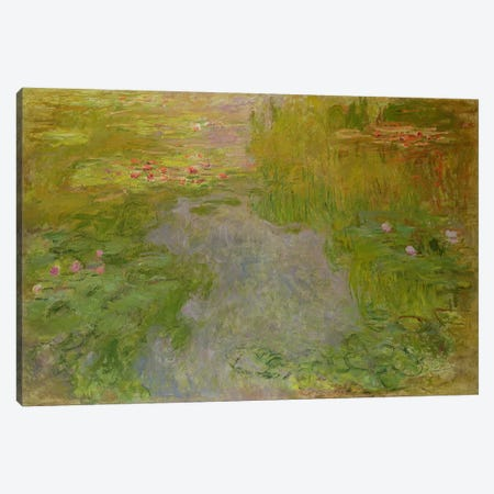 Waterlilies, c.1919  Canvas Print #BMN1611} by Claude Monet Canvas Print