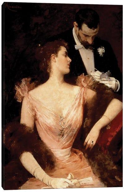 Invitation to the Waltz, 1895  Canvas Art Print