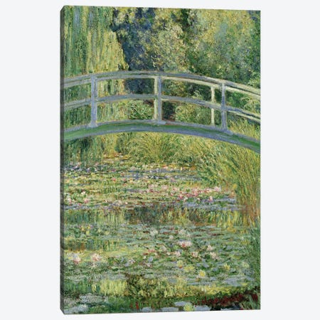 Waterlily Pond, 1899  Canvas Print #BMN164} by Claude Monet Canvas Art