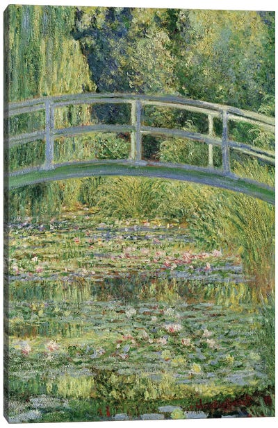 Waterlily Pond, 1899  Canvas Art Print