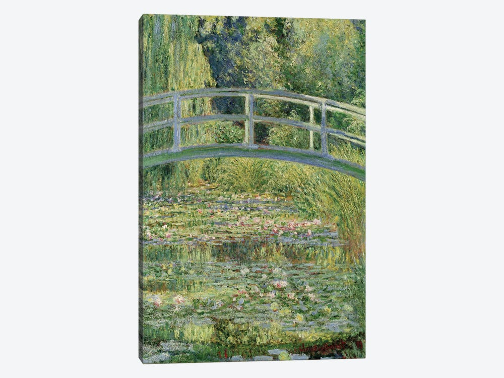 Waterlily Pond, 1899  by Claude Monet 1-piece Canvas Art