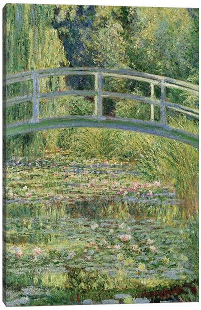 Waterlily Pond, 1899  Canvas Art Print