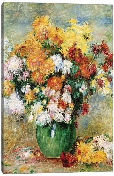 Bouquet of Chrysanthemums, c.1884  Canvas Art Print