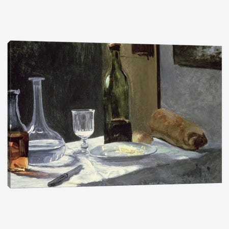 Still Life with Bottles, 1859  Canvas Print #BMN1686} by Claude Monet Canvas Art Print