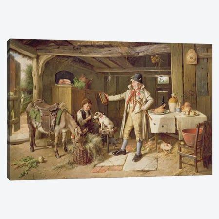 A Fine Attire, 1890  Canvas Print #BMN1690} by Charles Hunt Art Print