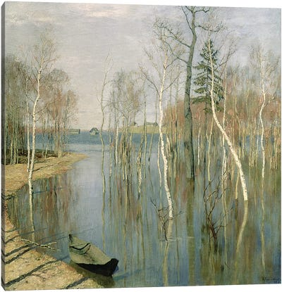 Spring, High Water, 1897  Canvas Art Print