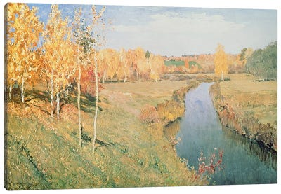 Golden Autumn, 1895 Canvas Art Print