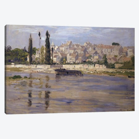 Carrieres-Saint-Denis, 1872  Canvas Print #BMN1714} by Claude Monet Canvas Art Print