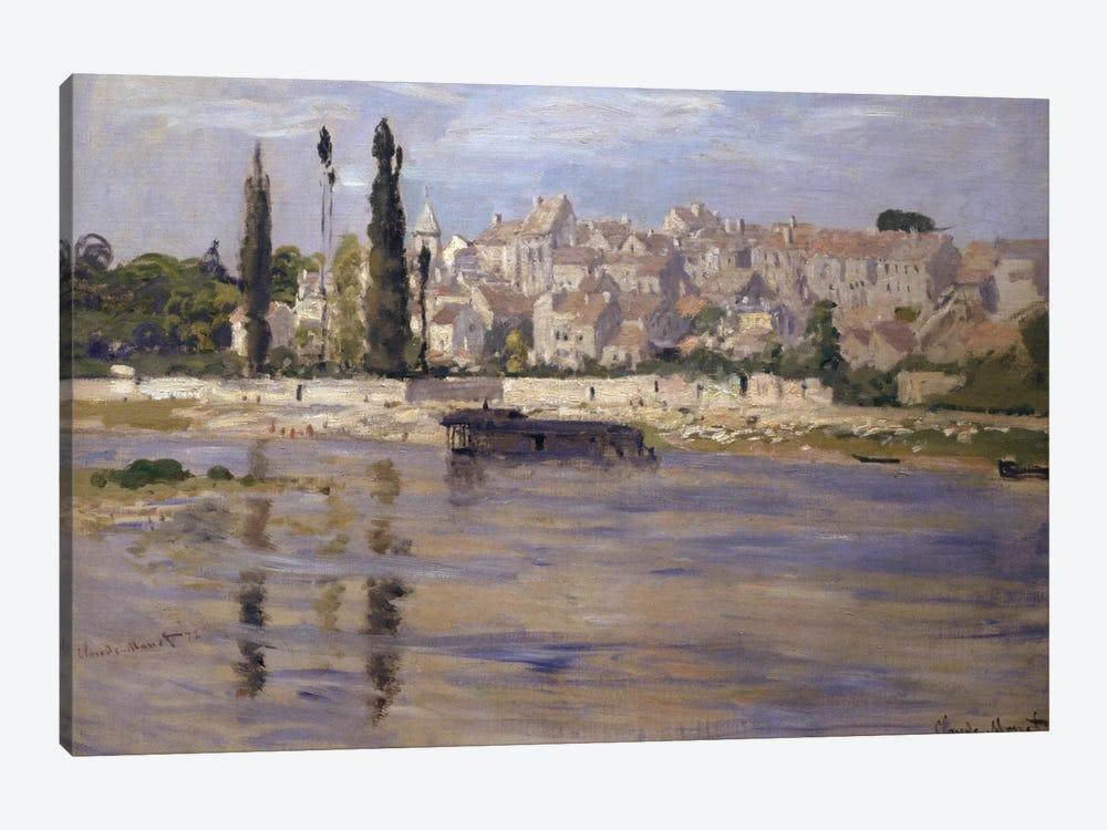 Carrieres-Saint-Denis, 1872  by Claude Monet 1-piece Canvas Print