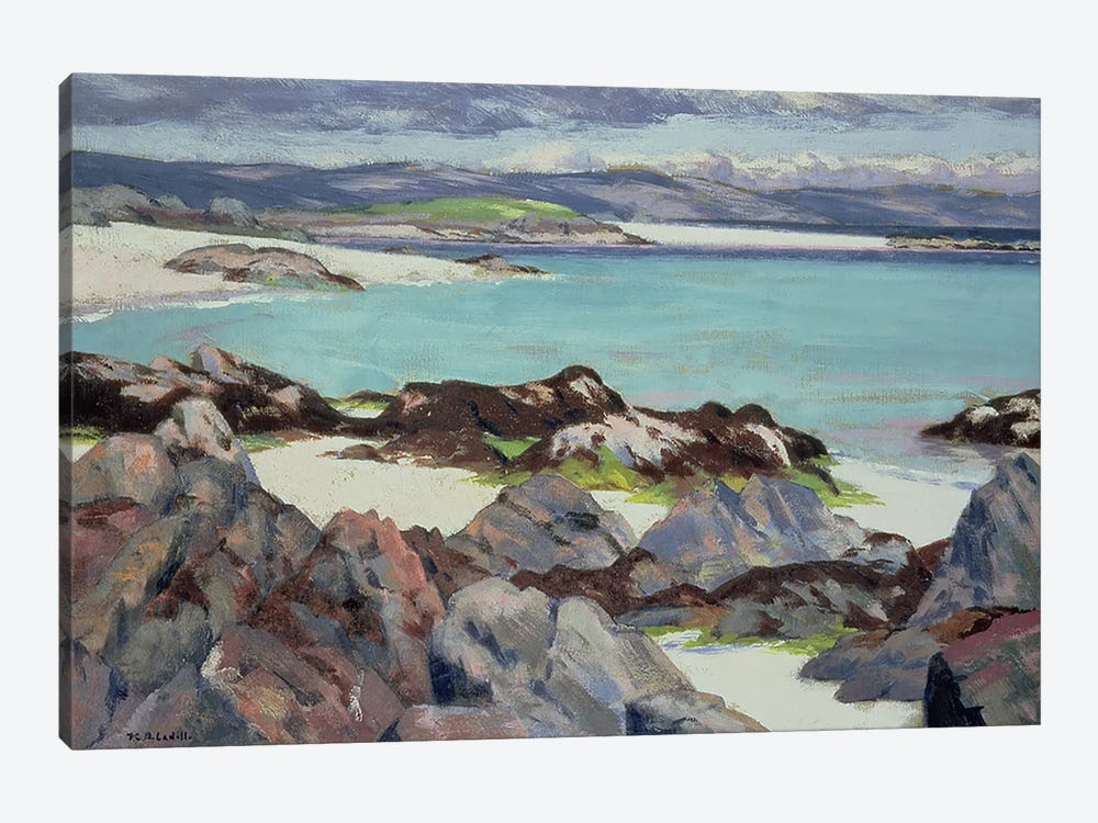 Iona, The East Bay, 1928  by Francis Campbell Boileau Cadell 1-piece Canvas Wall Art