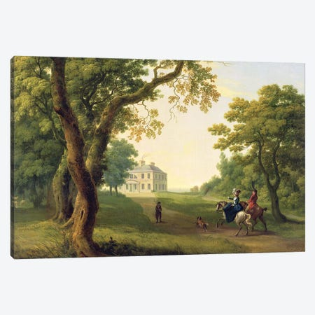Mount Kennedy, County Wicklow, Ireland, 1785  Canvas Print #BMN1718} by William Ashford Canvas Art