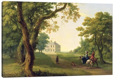 Mount Kennedy, County Wicklow, Ireland, 1785  Canvas Art Print