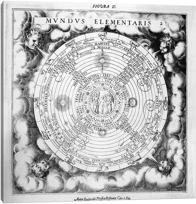 The Elemental Composition of the World  Canvas Print #BMN1749