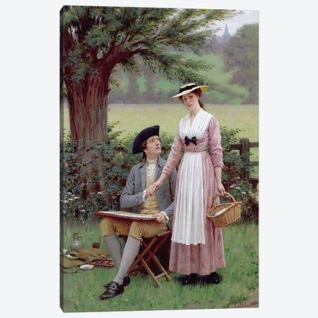 The Lord of Burleigh, Tennyson, 1919  Canvas Print #BMN1763} by Edmund Blair Leighton Art Print