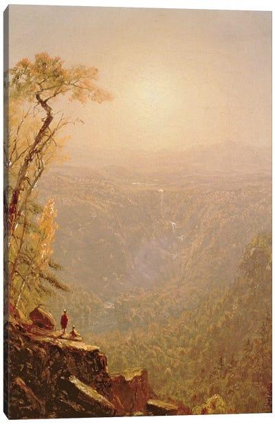 Kauterskill Clove, in the Catskills, 1862  Canvas Art Print