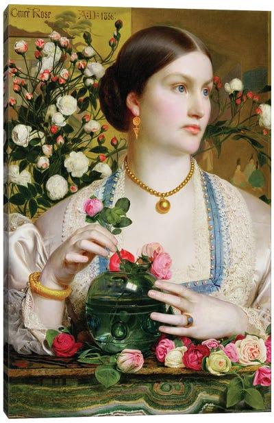 Grace Rose, 1866  Canvas Art Print