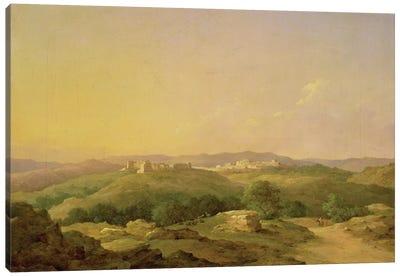 View of Bethlehem, 1857  Canvas Art Print