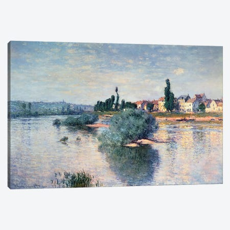 Lavacourt, 1880  Canvas Print #BMN181} by Claude Monet Canvas Print
