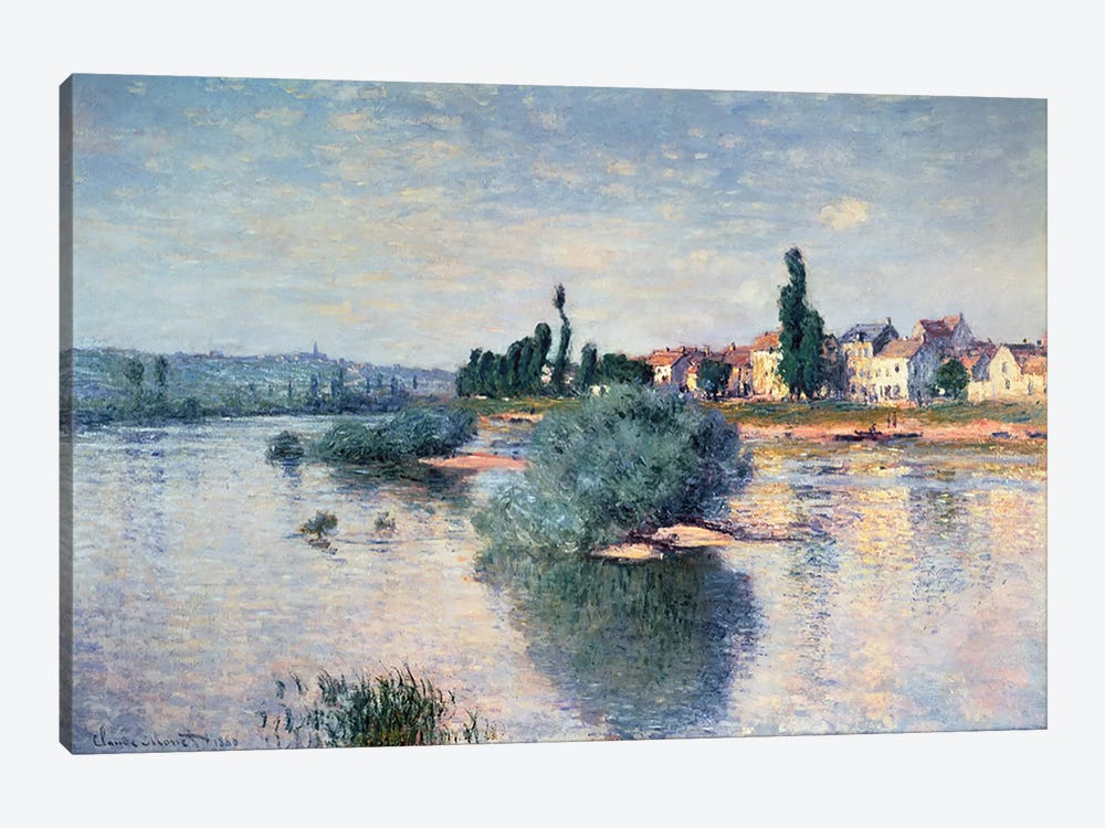 Lavacourt, 1880  by Claude Monet 1-piece Canvas Print