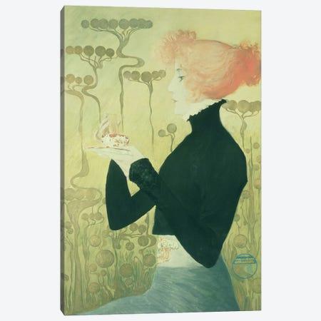 Portrait of Sarah Bernhardt Canvas Print #BMN184} by Manuel Orazi Canvas Art