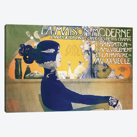 La Maison Moderne, c.1902  Canvas Print #BMN185} by Manuel Orazi Canvas Artwork