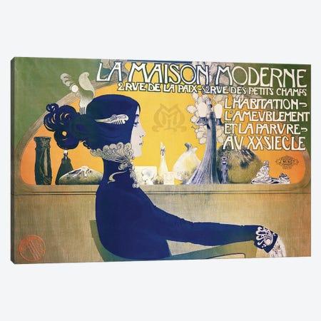 La Maison Moderne, c.1902  3-Piece Canvas #BMN185} by Manuel Orazi Canvas Artwork