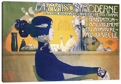 La Maison Moderne, c.1902  Canvas Art Print