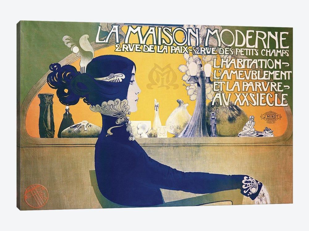 La Maison Moderne, c.1902  by Manuel Orazi 1-piece Canvas Print