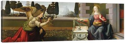 Annunciation, 1472-75   Canvas Art Print