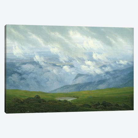 Drifting Clouds  Canvas Print #BMN1879} by Caspar David Friedrich Art Print