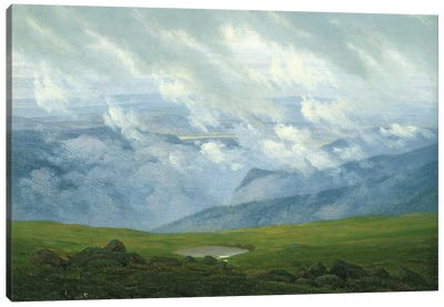 Drifting Clouds  Canvas Art Print
