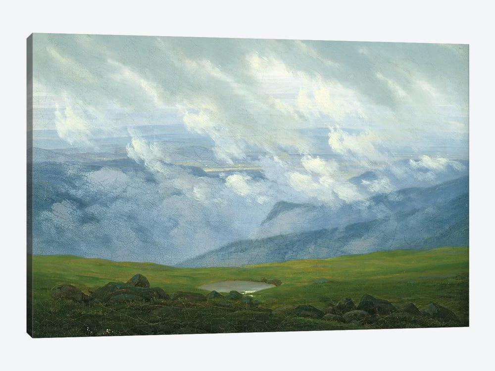 Drifting Clouds  by Caspar David Friedrich 1-piece Canvas Wall Art