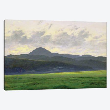 Mountainous landscape  Canvas Print #BMN1880} by Caspar David Friedrich Canvas Wall Art