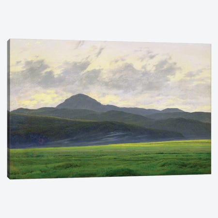 Mountainous landscape  Canvas Print #BMN1880} by Caspar David Friedrich Canvas Wall Art