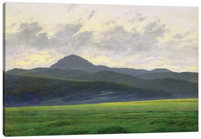 Mountainous landscape  Canvas Art Print