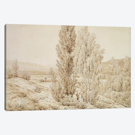 Summer  Canvas Print #BMN1884} by Caspar David Friedrich Art Print