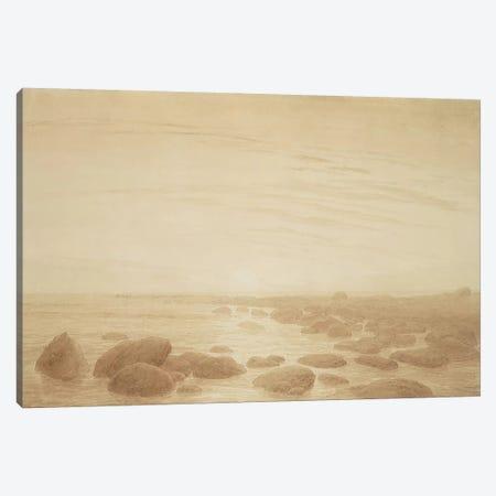 Moonrise on the Sea  Canvas Print #BMN1885} by Caspar David Friedrich Canvas Print