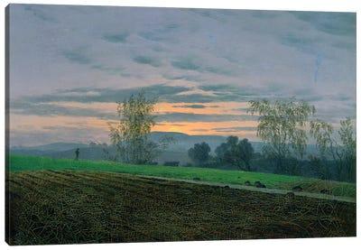 Ploughed Field, c.1830  Canvas Art Print