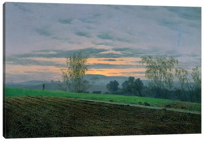 Ploughed Field, c.1830  Canvas Art Print